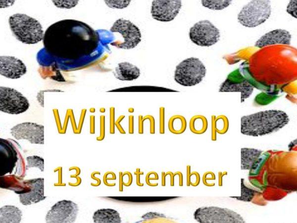 Wijkbijeenkomst in de Wegwijzer gaat weer van start op donderdag 13 September