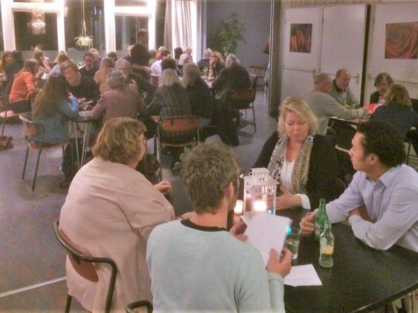 Een geslaagd Politiek Eetcafé