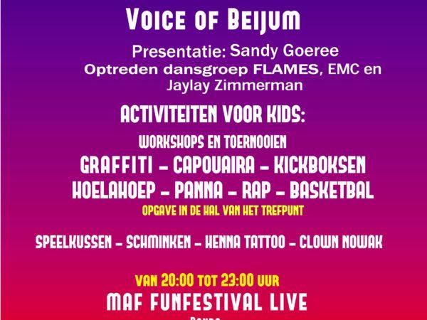 Funfestival 15 juni @Trefpunt