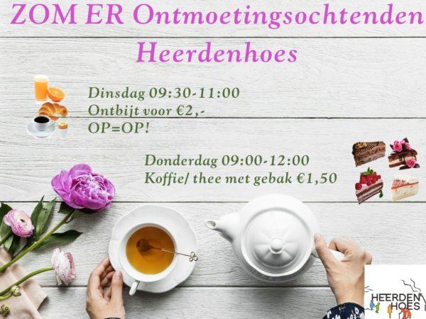ZOMER ontmoetingsochtenden in Heerdenhoes