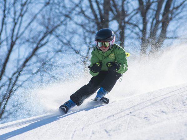 Wintersport familiedag