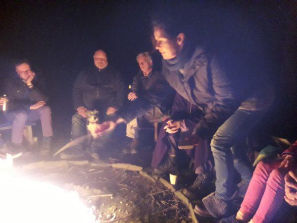 Buurten rond het vuur