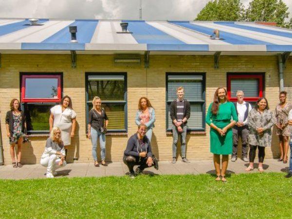 Diplomering studenten Wijkgilde