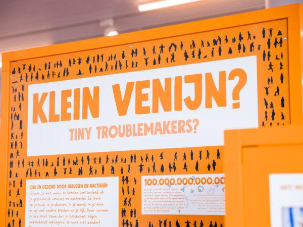 De interactieve installatie 'Klein venijn?'