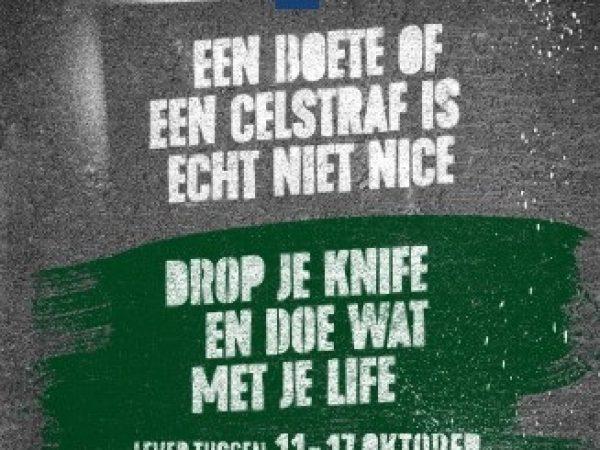 Inleveractie wapens: drop je knife